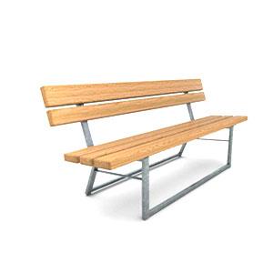 Parkbänkar