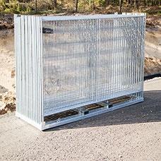 Byggstängsel | 105 m Byggstängsel Förstärkt komplett kit