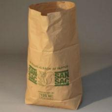 Sopsäckar | Sopsäckar av våtstarkt kraftpapper enbladig 125L 50 st