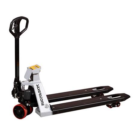 Gaffelvagn | Gaffelvagn med våg och printer 2000 kg