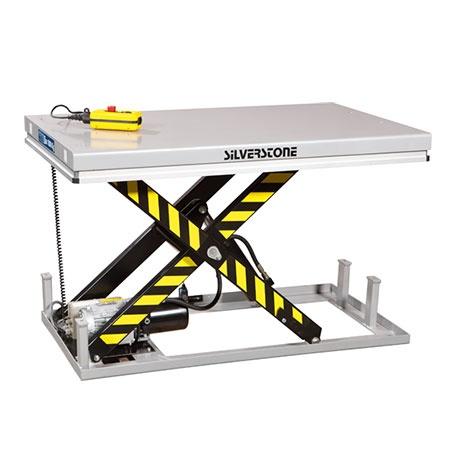 Elektriskt lyftbord | Stationärt Elektriskt Lyftbord, 1000 kg, 850 x 2000 mm