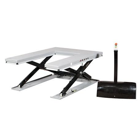 Elektriskt lyftbord | U-format Lågprofillyftbord, 1000 kg, 1420 x 1140 mm