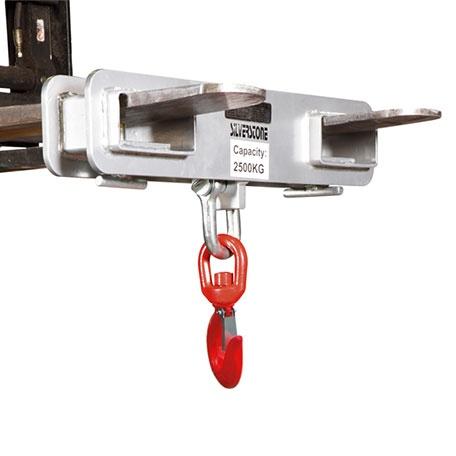 Gafflar | Gaffelkrok med Säkerhetsspärr, 2500 kg