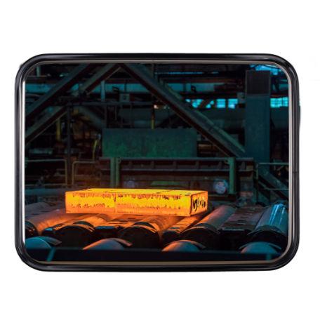 Inspektionsspegel | Kontrollspegel INOX 40x60 - 60x80 cm