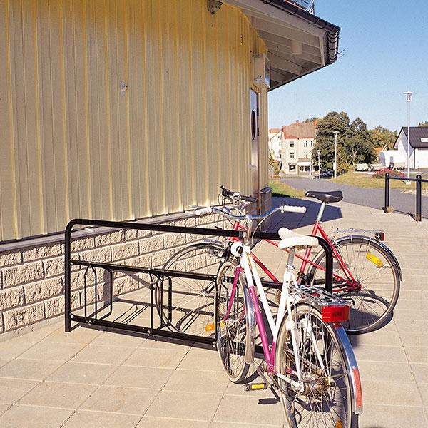 Cykelställ | Cykelställ Gaspra 8 platser svart