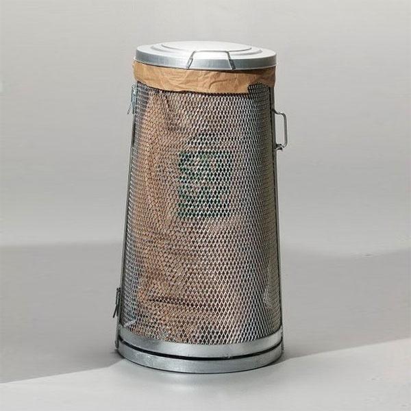 Säckhållare | Säckhållare i sträckmetall