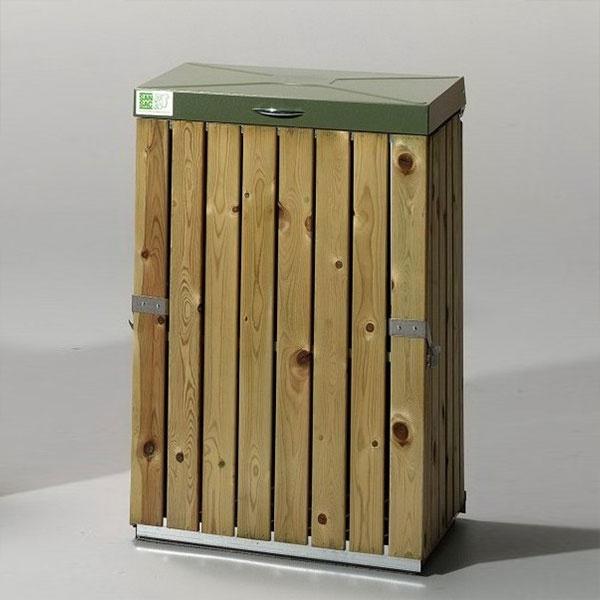 Säckhållare | Säckhållare med tryckimpregnerat trä
