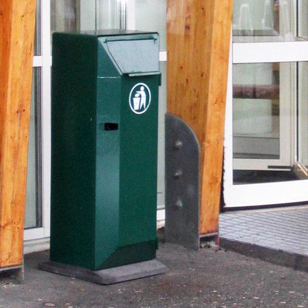 Papperskorg | Papperskorg San Set 125L Grön