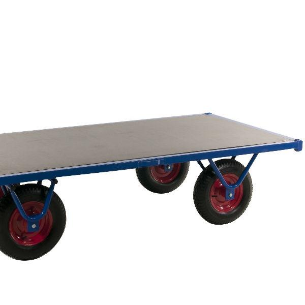 Rullvagn | Flakvagn 2m