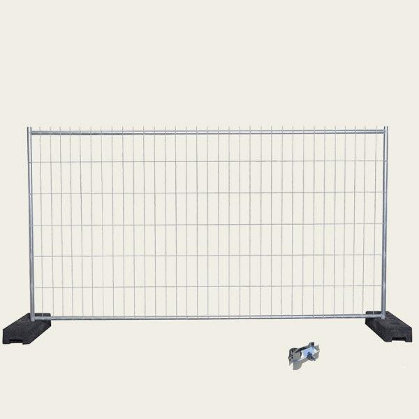 Byggstängsel | 140 m Byggstängsel Standard komplett kit