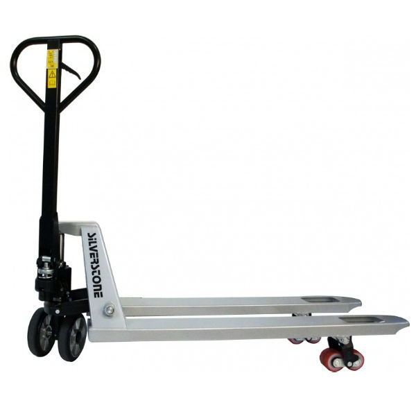 Gaffelvagn | Gaffelvagn med quick-lift och boogiehjul i Polyuretan  2300kg