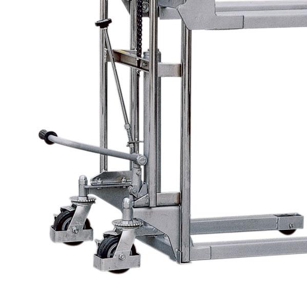Manuell staplare   Hydraulisk mini-staplare, 400 kg, 1100 mm