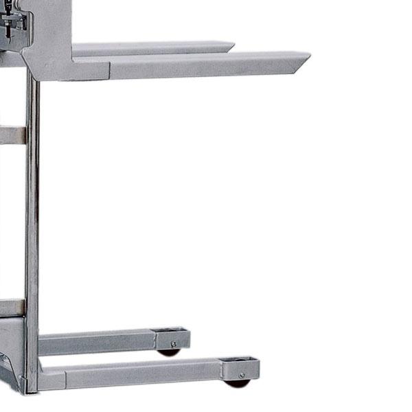 Manuell staplare | Hydraulisk mini-staplare, 400 kg, 1100 mm