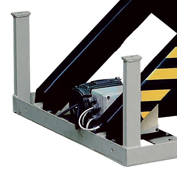 Elektriskt lyftbord | Stationärt Lyftbord, Dubbelsax, 2000 kg, 850 x 1300 mm