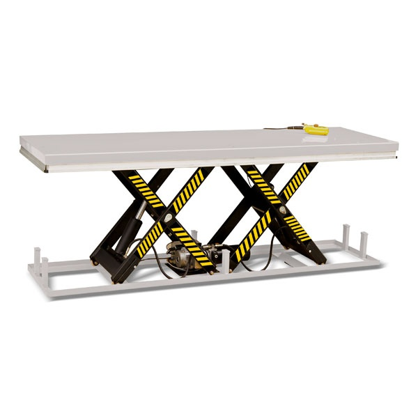 Elektriskt lyftbord | Stationärt Lyftbord, Höjdsax, 2000 kg, 820 x 2500 mm