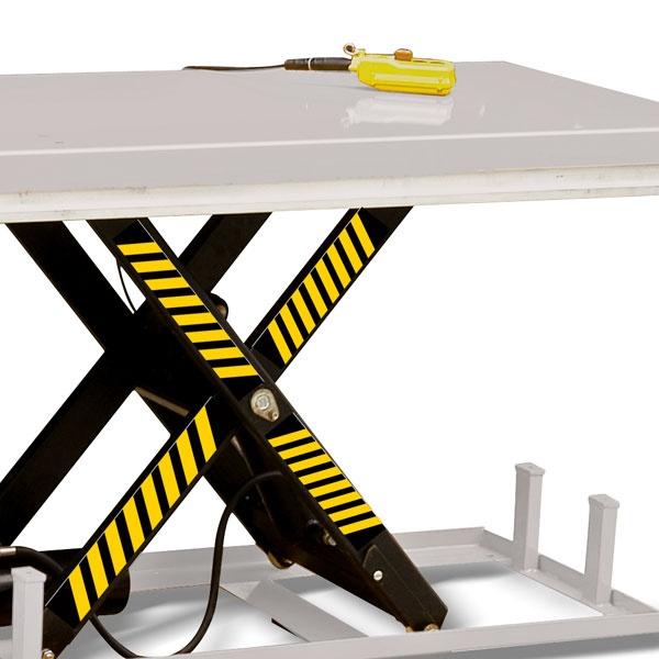 Elektriskt lyftbord | Stationärt Lyftbord, Höjdsax, 4000 kg, 820 x 2500 mm