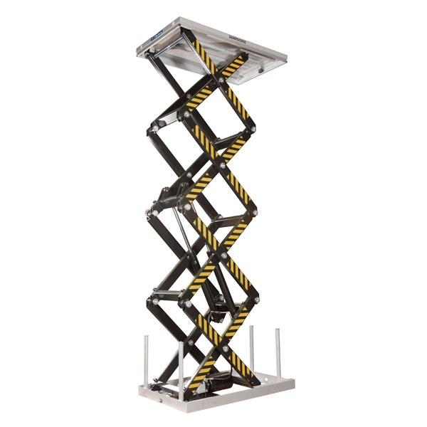 Elektriskt lyftbord | Stationärt Lyftbord, Fyrsax, 800 kg, 1700 x 1000 mm