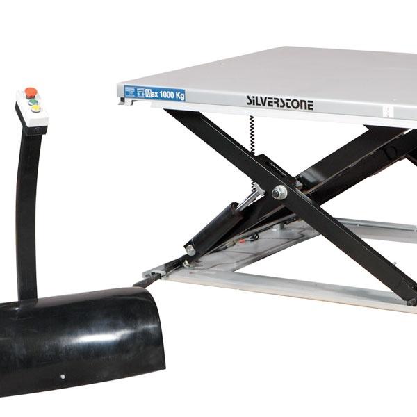Hydrauliska lyftbord | Lågprofillyftbord, 1000 kg, 1450 x 800 mm