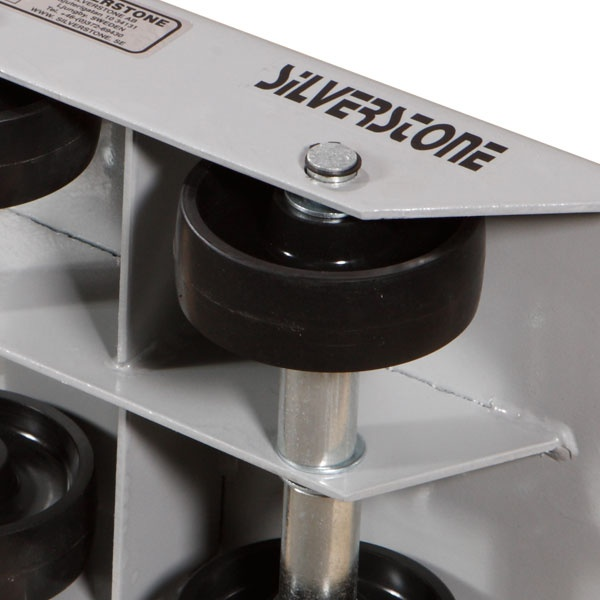 Maskinskridskor | Maskinskridsko med fasta hjul, 1000 kg