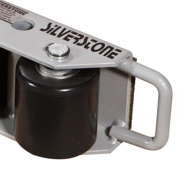 Maskinskridskor | Maskinskridsko med fasta hjul, 2500 kg