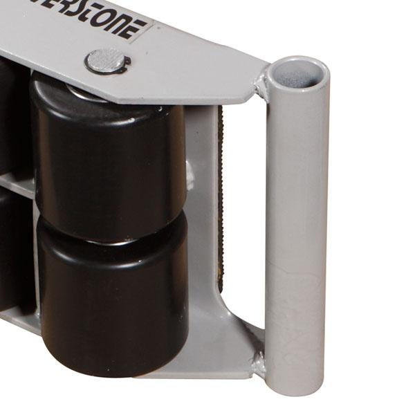 Maskinskridskor | Maskinskridsko med fasta hjul, 6000 kg