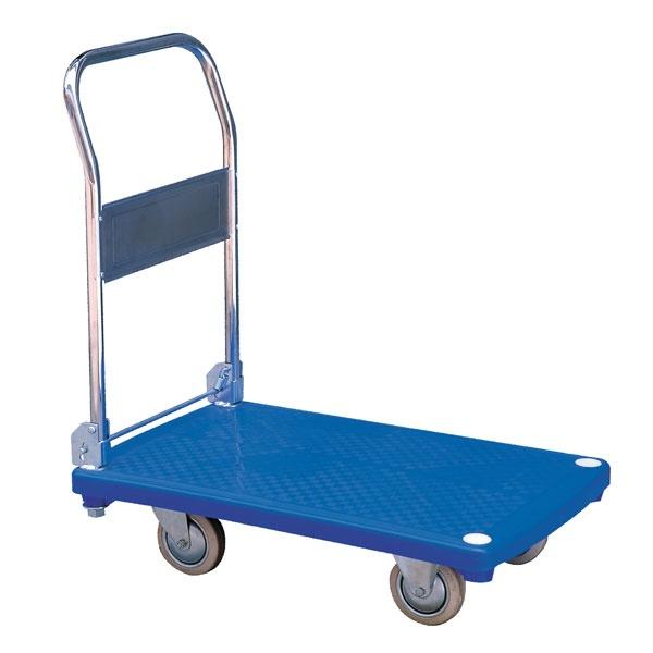 Rullvagn | Plattformsvagn i plast, 200 kg