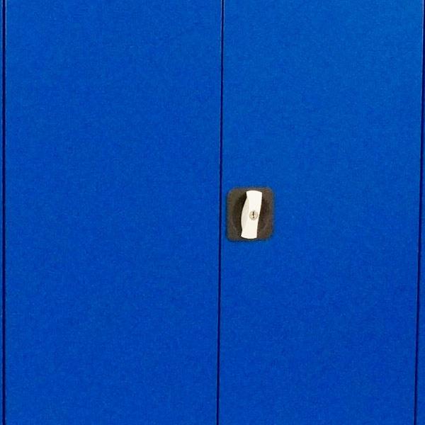Verktygsskåp | Helsvetsat Verktygsskåp, Blå, 2000 mm