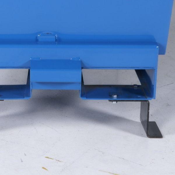 Tippcontainer | Distanser för hantering med staplare