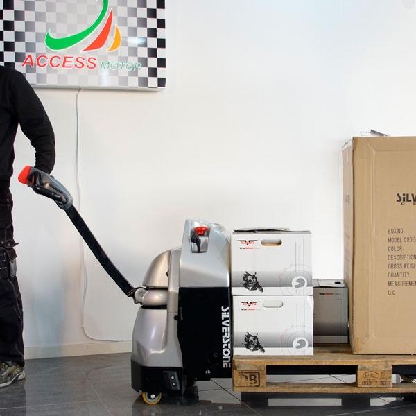 Motorlyftvagn | Fullelektrisk Motorlyftvagn, 1800 kg