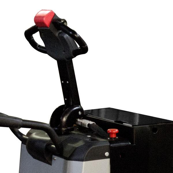 Motorlyftvagn | Fullelektrisk Motorlyftvagn med Plattform, 2000 kg, 2400 mm