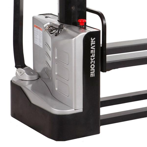 Gåstaplare | Fullelektrisk Gåstaplare, 1000 kg, 1600 mm