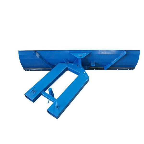 Snöplog | Ställbar snöplog till truck 2000mm med gummilist