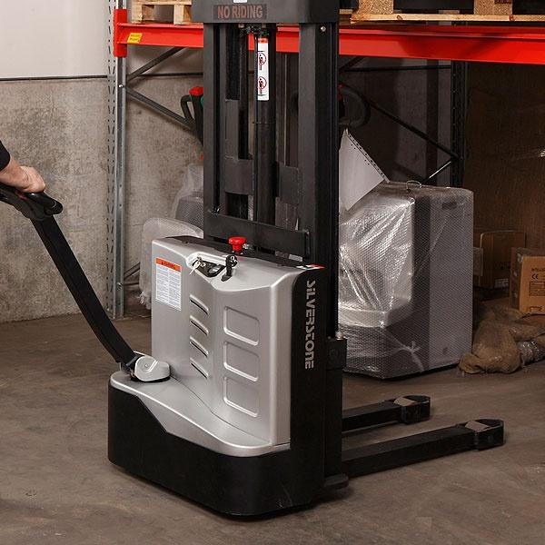 Gåstaplare | Fullelektrisk Gåstaplare, 1000 kg, 2700 mm