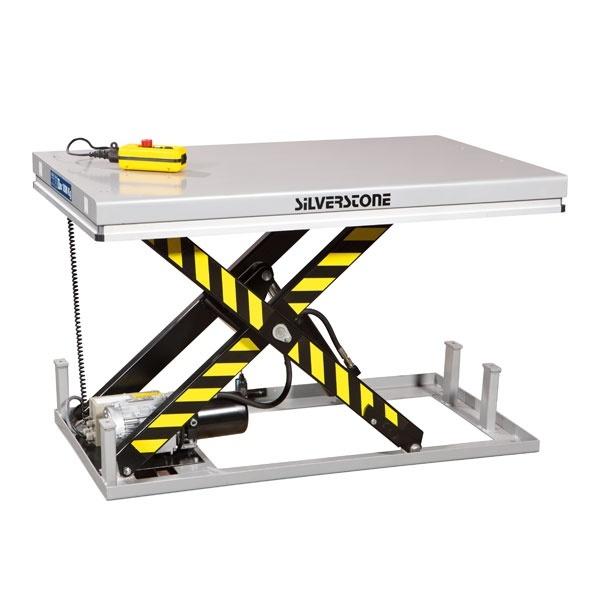 Elektriskt lyftbord | Stationärt Elektriskt Lyftbord, 1000 kg, 1000 x 2000 mm