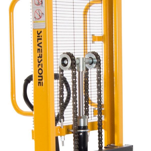 Manuell staplare | Manuell Staplare Gul, 1000 kg, 1600 mm