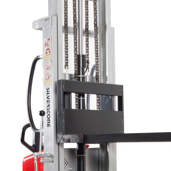 Ledstaplare | Semi-elektrisk staplare, 1000 kg, 3500 mm