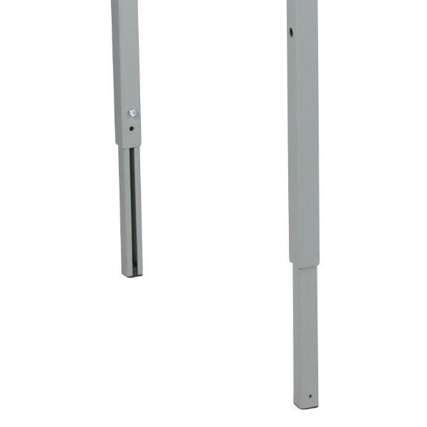 Arbetsbord | Justerbart arbetsbord med laminatskiva 1600mm - kapacitet 150 kg