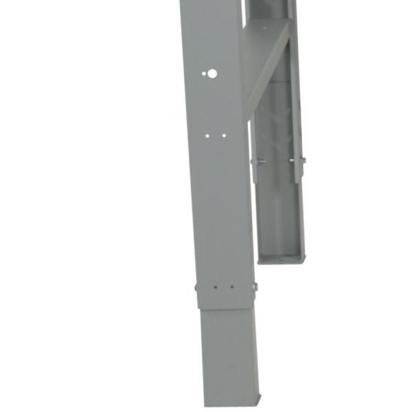 Arbetsbord | Justerbart arbetsbord 1600-2000mm med boardskiva - 5 lådor