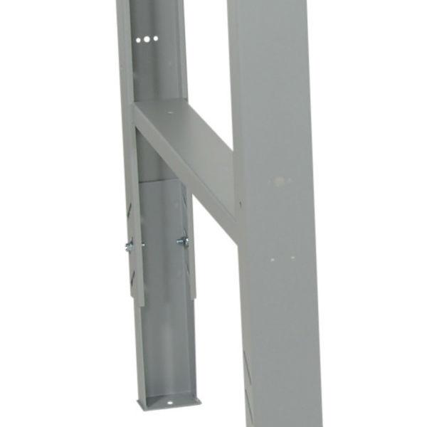 Arbetsbord | Justerbart arbetsbord 1600-2000mm med boardskiva - 6 lådor