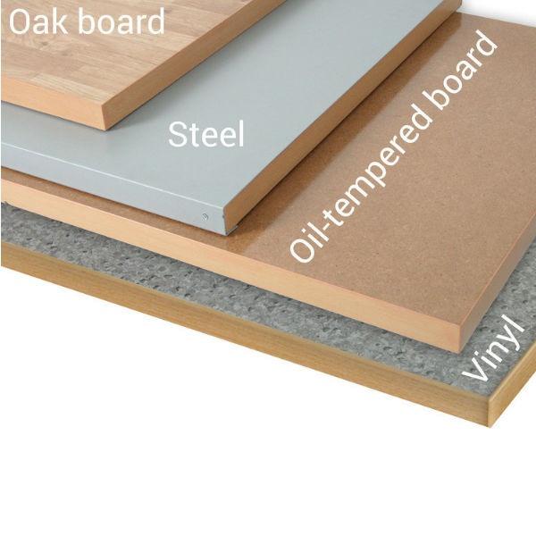 Arbetsbord   Justerbart arbetsbord 1600-2000mm med boardskiva - 6 lådor