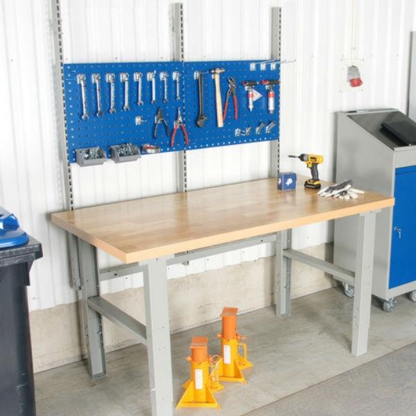 Arbetsbord | Påbyggnadsats till 2000 mm arbetsbord