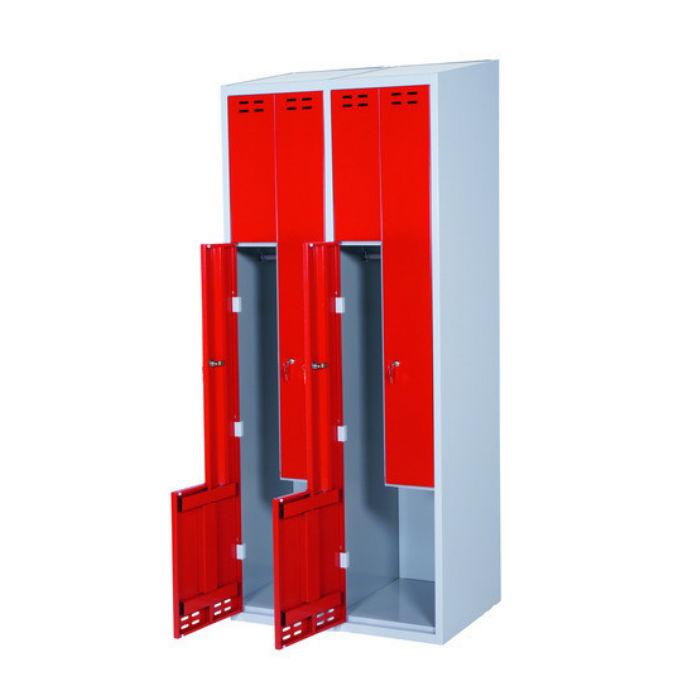 Klädskåp | Z-Klädskåp Fyra dörrar