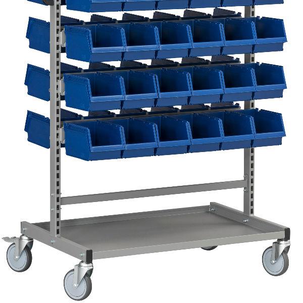 Montörsvagn | Komplett Montörvagn HD 150 1 inkl 72 Plastbackar